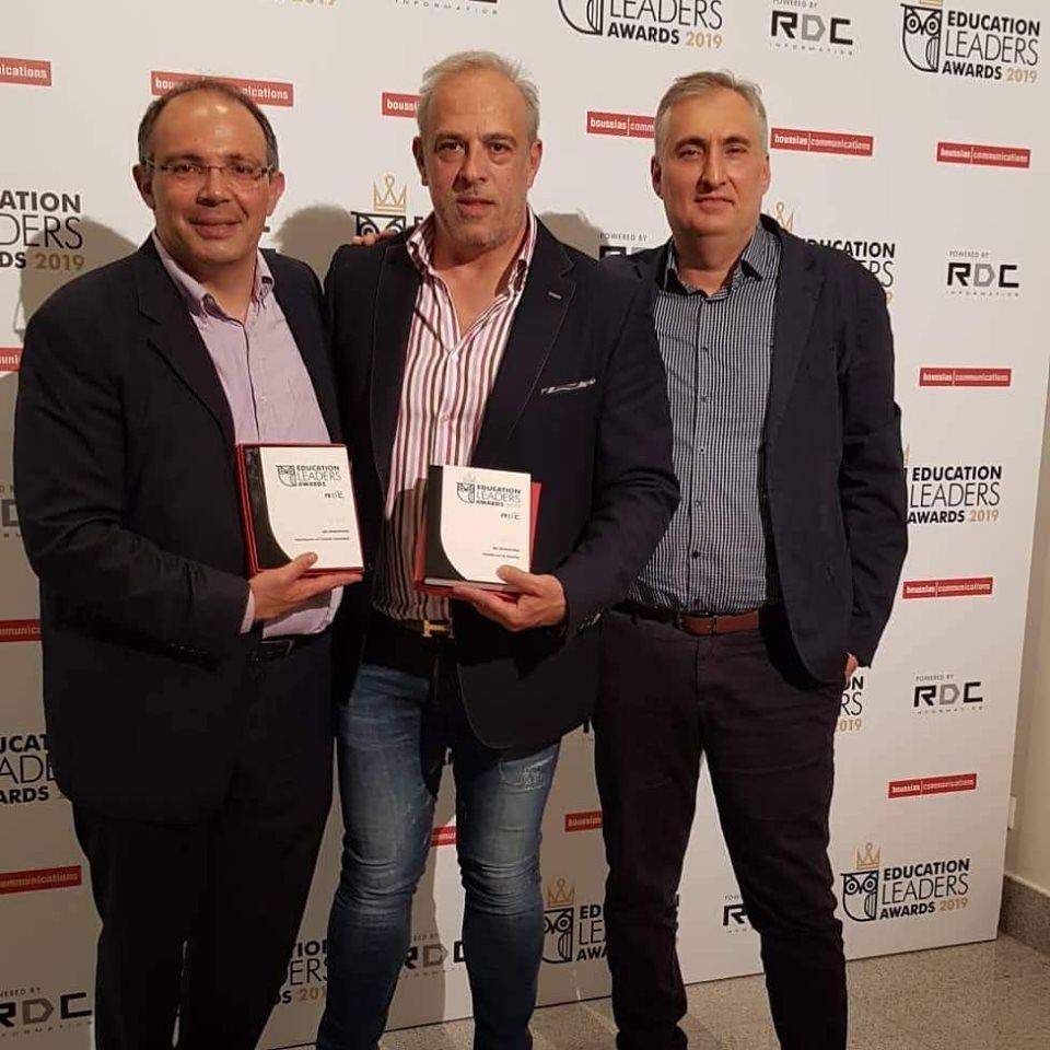 Ο Δημήτρης Ντάφος, ο Αντώνης Καλούδης και ο Μάνος Παπαδημητρίου