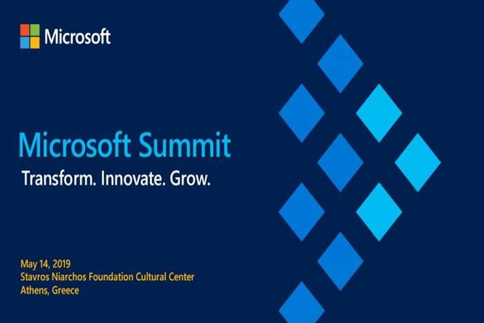 αφίσα microsoft Summit