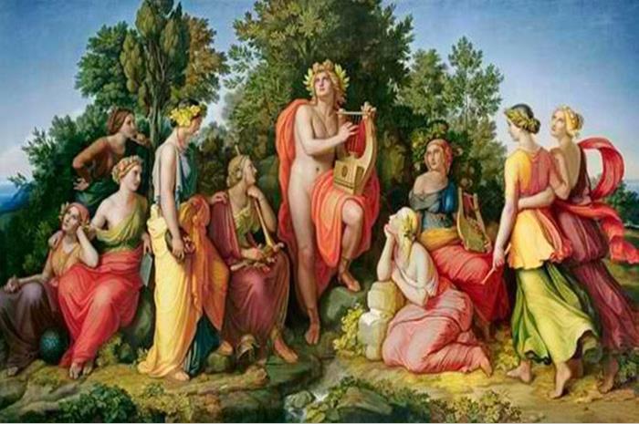 οι Μούσες της αρχαίας μυθολογίας