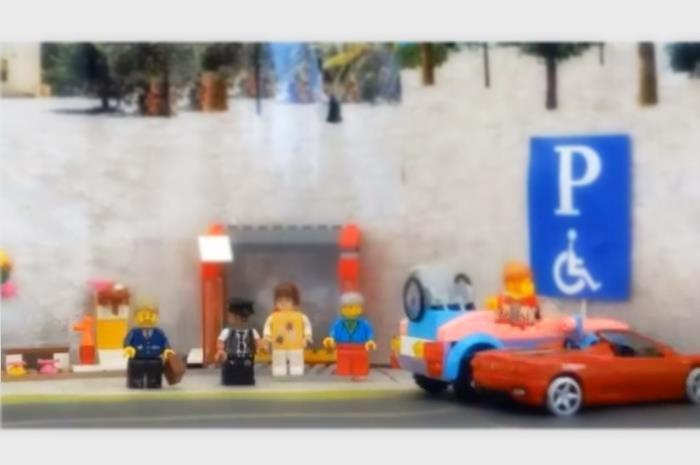 ανθρωπάκια lego στην ταινία
