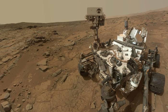 το ρόβερ Curiosity της NASA στον Άρη