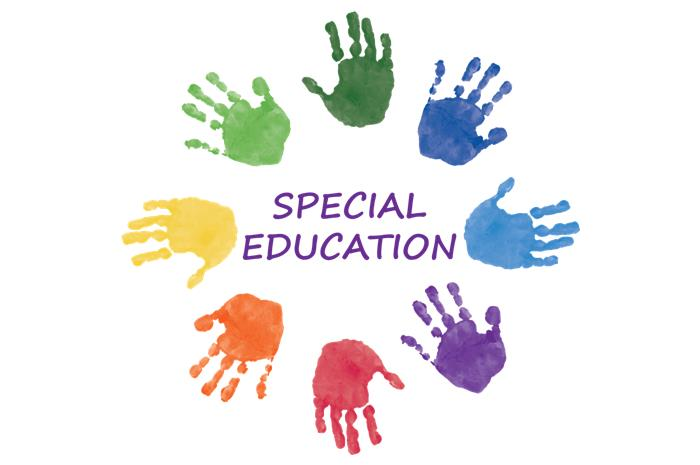 Χρωματιστές παλάμες και η φράση special education