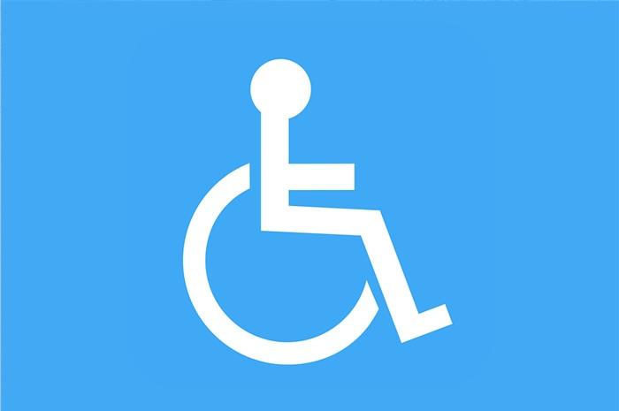αναπηρικό αμαξίδιο σήμα ΑμεΑ