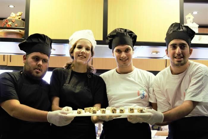 Τα μέλη της ομάδας, Γιάννης Χατζηαργυρίου, Ελένη Αλμπέρτου, Μιχάλης Σιδέρης, Γιώργος Βραδής