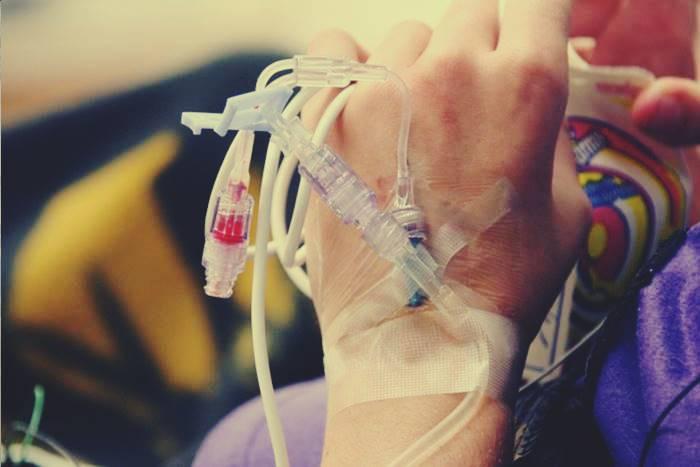 ασθενής που κάνει χημειοθεραπείες
