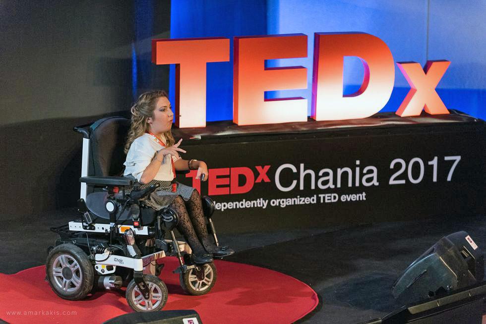 Η Αλεξάνδρα Τζιλιβάκη στο tedx Χανίων