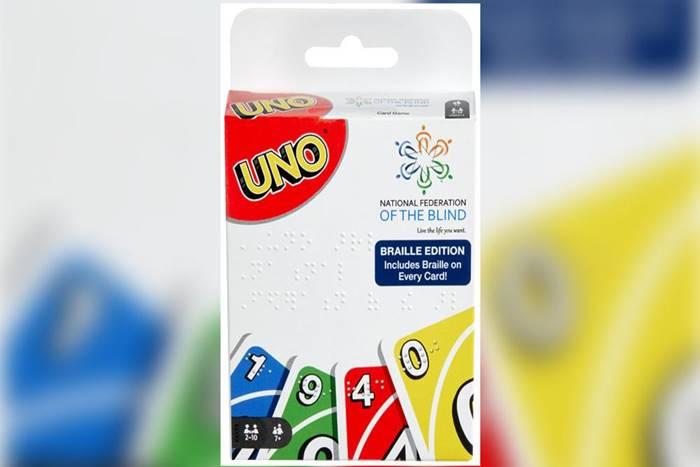 Συσκευασία Καρτών Uno se Braille