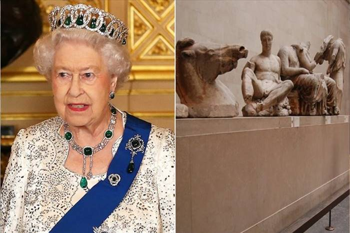Η Βασίλισσα Ελισάβετ και τα Ελγίνεια Μάρμαρα