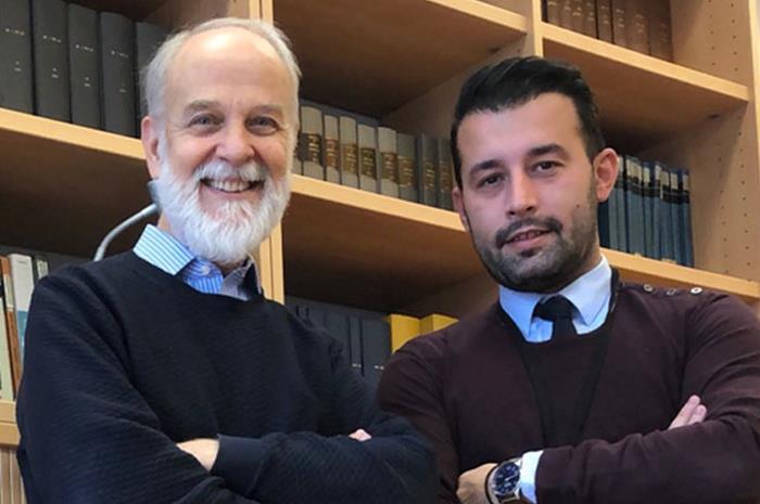 Ο Γεώργιος Σταμούλης και ο Στυλιανός Αντωναράκης