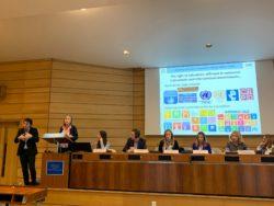 Η εισήγηση της κας Florence Migeon – Συντονίστρια του Προγράμματος Ένταξης στην Εκπαίδευση της UNESCO.