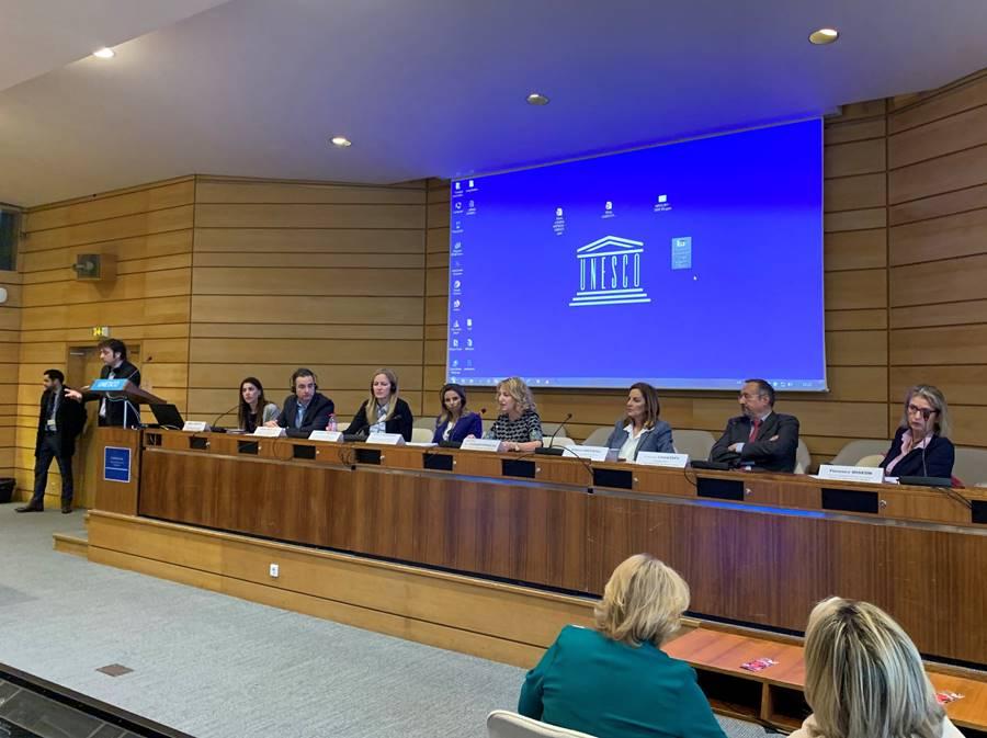 Ο χαιρετισμός της κας Διαμαντοπούλου – Πρέσβης, Μόνιμη Αντιπρόσωπος της Ελλάδας στην UNESCO