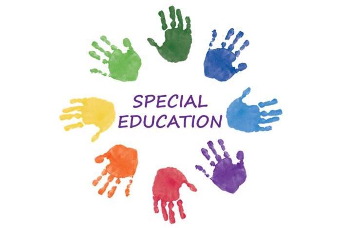 Χρωματιστές παλάμες και η λέξη special education