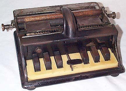 Γραφομηχανή για τη γραφή Μπράιγ