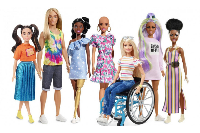 Κούκλες της Barbie καμπάνια 2020