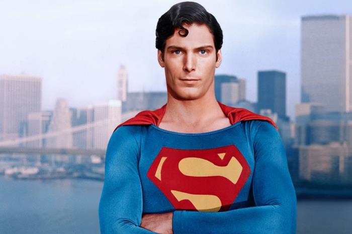 Ο Christopher Reeve ως σούπερμαν