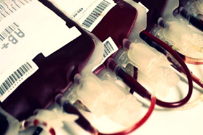 σακουλάκια που φυλάσσεται το αίμα