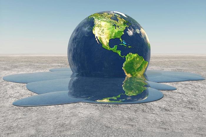 Ο Πλανήτης Γη που λιώνει