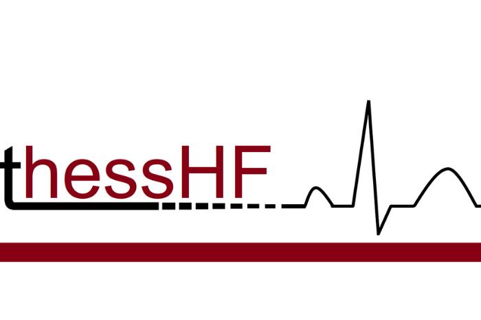 το λογότυπο της εφαρμογής thessHF