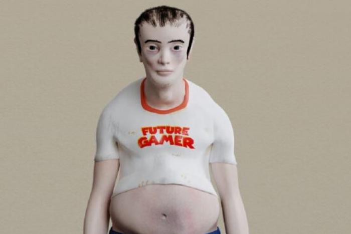 το μοντέλο του gamer του μέλλοντος ο Μάικλ