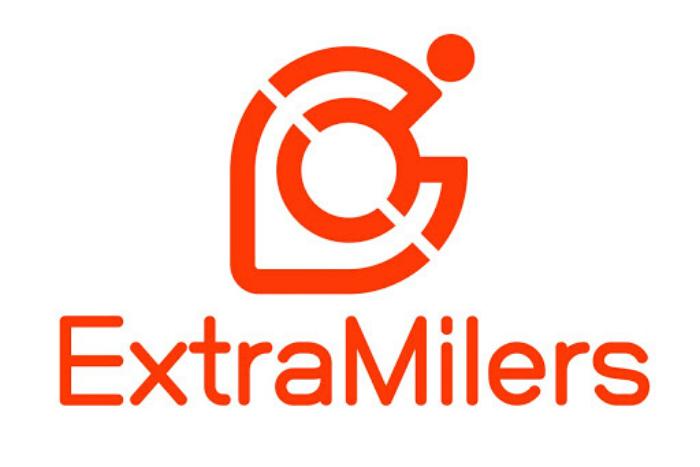 λογότυπο της πλατφόρμας extra milers