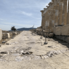 Ακρόπολη: Διάδρομος γύρω από τον Παρθενώνα
