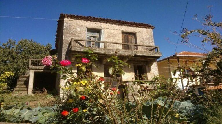το σπίτι του Νίκου Γκάτσου στην ΑσεΑ