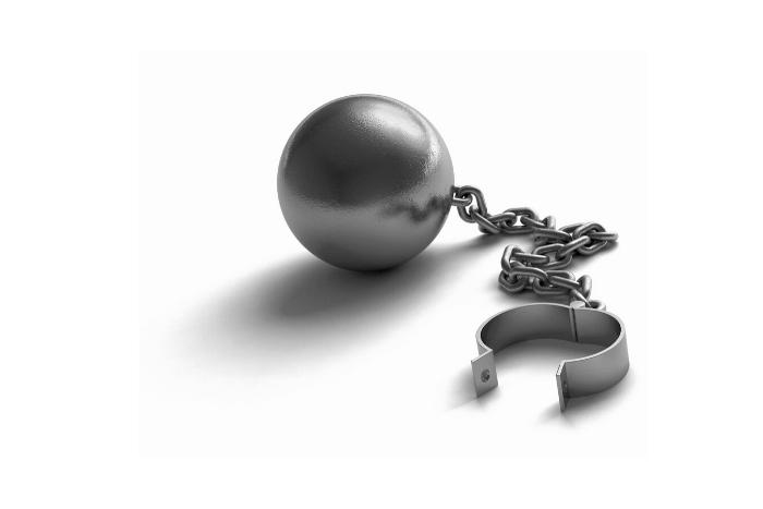 αλυσίδα φυλακισμένου