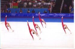 ολυμπιακοί αγώνες 2000 οι αθλήτριες στο χορευτικό
