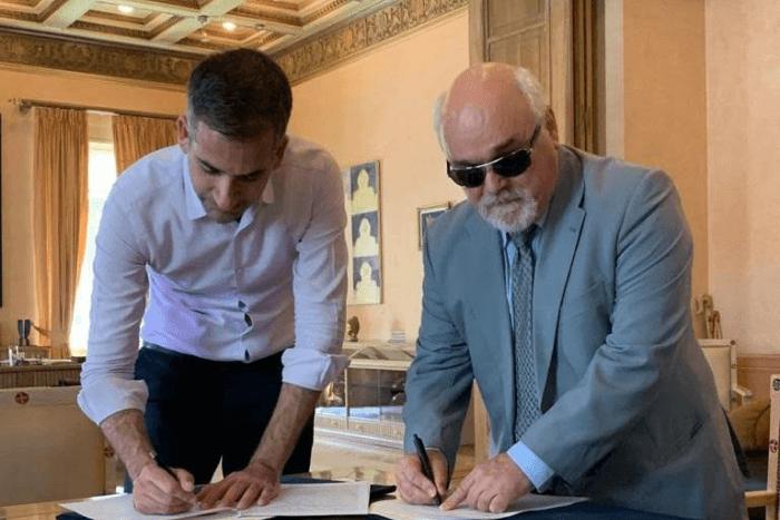 Ο Κώστας Μπακογιάννης και ο Ιωάννης Βαρδακαστάνης υπογράφουν πρωτόκολλο συνεργασίας