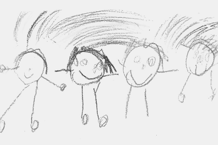 ιχνογράφημα παιδιού