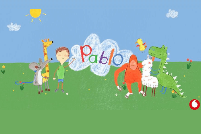 κινούμενο σχέδιο pablo