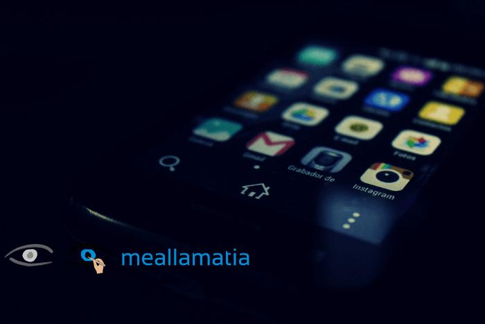 κινητό android και λογότυπο ΑΜΚΕ Με Άλλα Μάτια