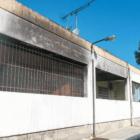 το κτήριο που έπιασε φωτιά από το 7ο τμήμα στο Δαφνί