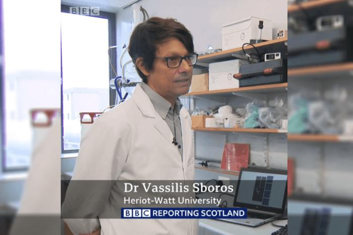 Ο Βαδίλης Σμπόρος μιλώντας στο BBC