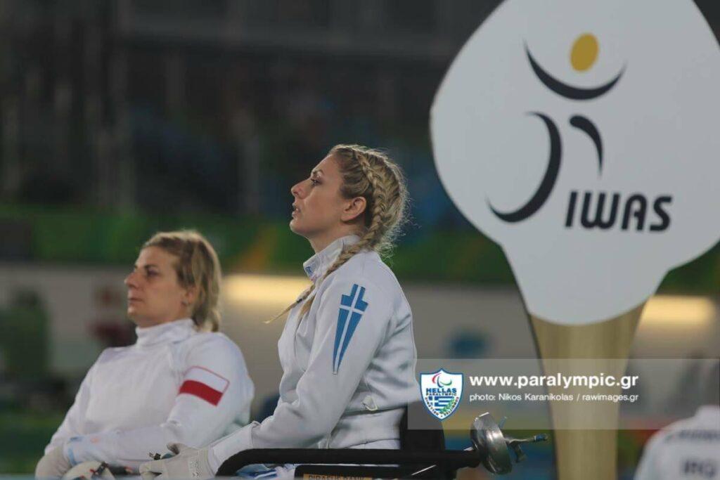 Η Κέλλυ Λουφάκη από τη συμμετοχή της στους Παραολυμπιακούς αγώνες