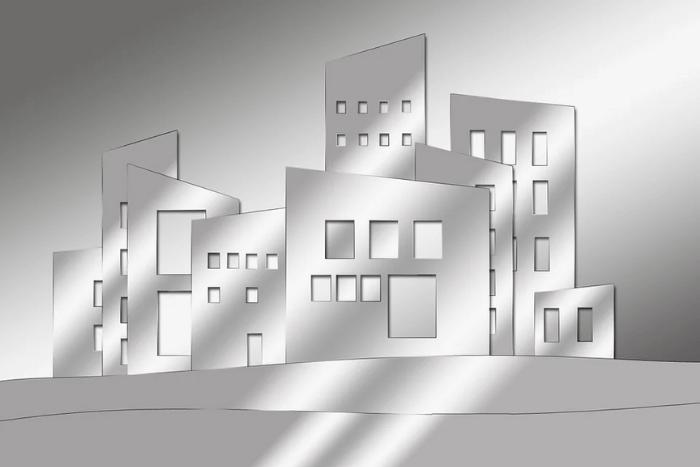 σκίτσο κατοικιών μαζεμένων, προσομοίωση πόλης