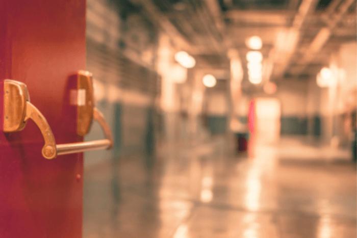 διάδρομος νοσοκομείου/ψυχιατρείου