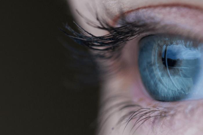 μάτι ανθρώπου κοντινό