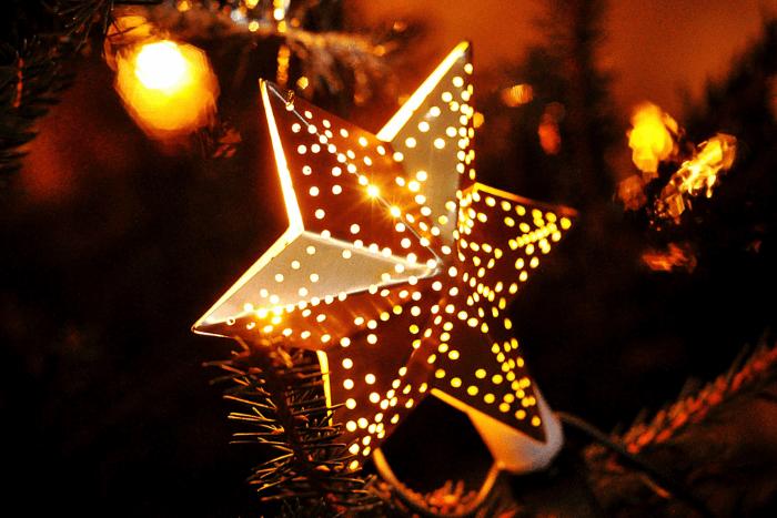 στολίδι δέντρου αστέρι