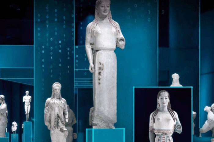 Εκθέματα Μουσείου Ακρόπολης ψηφιακά