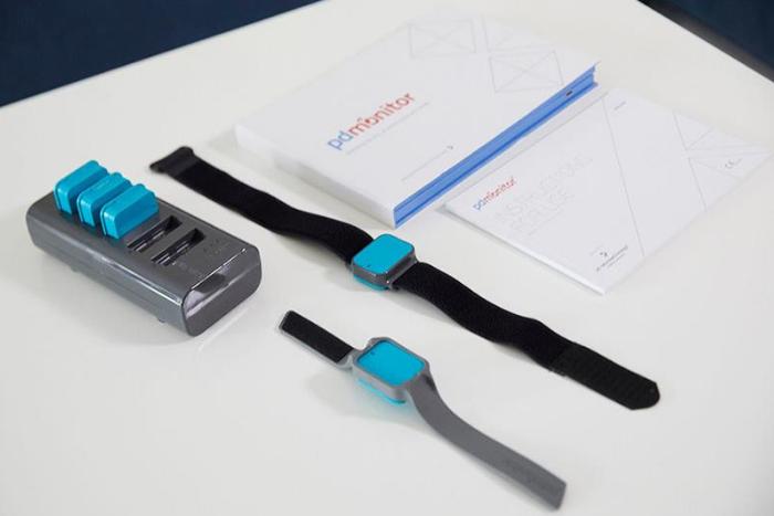 PDMonitor- Ιατρική συσκευή (μοιάζει σαν ρολόι)