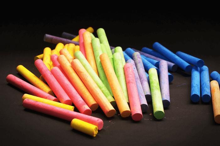 Χρωματιστές κιμωλίες