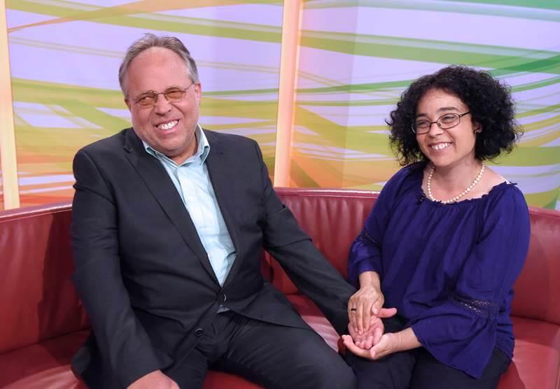 Ο Peter Hepp με την σύζυγό του Margherita το 2018
