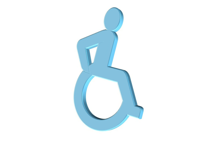 εικονίδιο αναπηρικού σήματος