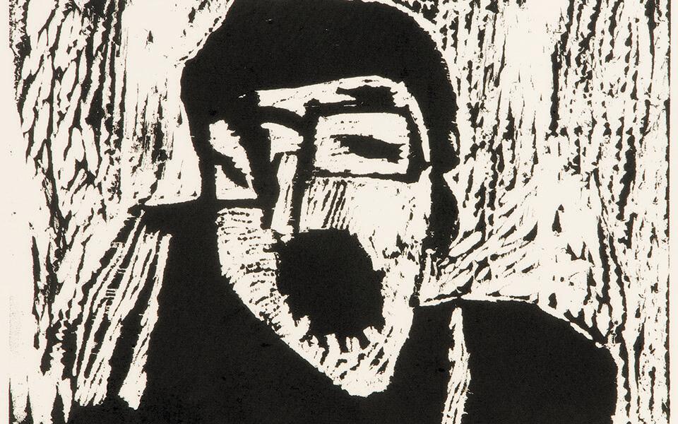 Εργο του Adolpho Avril, πρόσωπο ανθρώπου