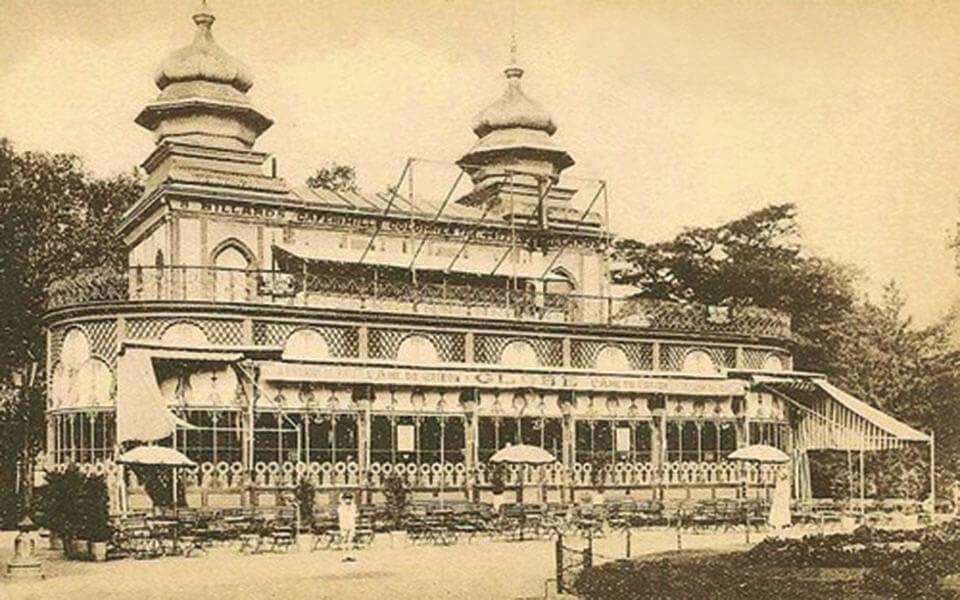 Το κτίριο του Trinkhall του 1880.