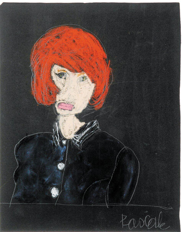 Έργο της Vincke Pascale, πορτρέτο γυναίκας