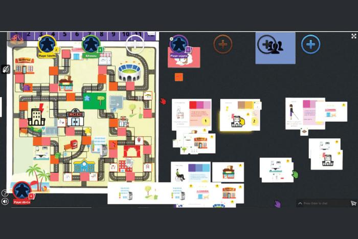 Στιγμιότυπο οθόνης από παιχνίδι με διάφορα εικονίδια