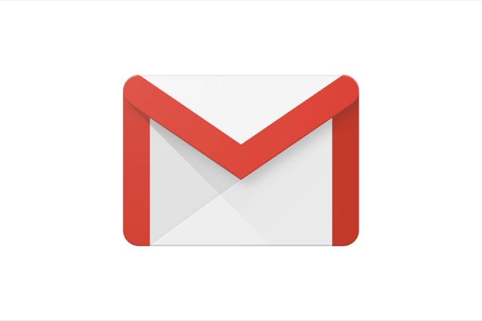 """Λογότυπο του gmail: ένα φακελάκι με το γράμμα """"Μ"""""""