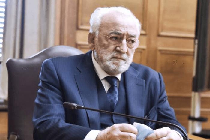 Ο Χρήστος Καλογρίτσας στη βουλή στην προανακριτική επιτροπή